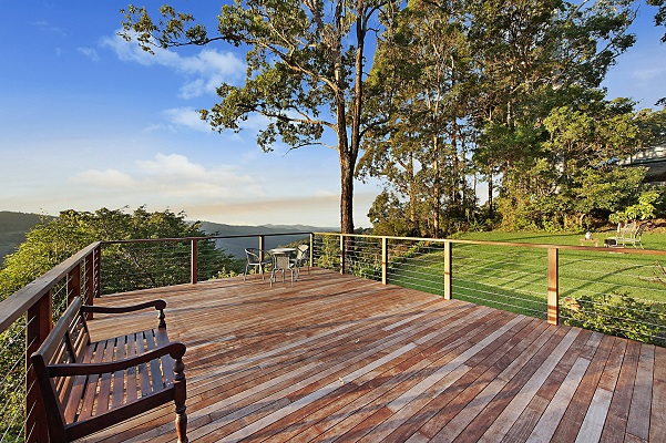 mt tamborine accommodation with views