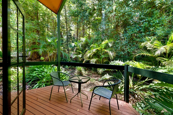 rainforest retreat qld